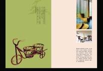 椅子企业画册封面设计
