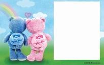 小熊牵手儿童相册模版