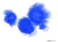 蓝色高清墨点图片