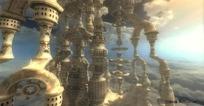 Quest3D虚拟现实demo 悬浮堡垒