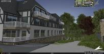 Quest3D虚拟现实之高尔夫酒店