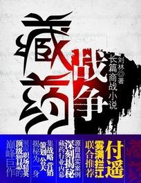 藏药战争封面设计