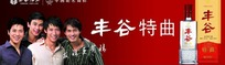丰谷酒王宣传海报