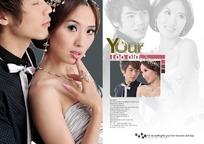 婚纱摄影相册模板