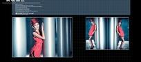 时尚个性写真相册模板