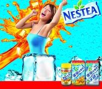 雀巢冰爽茶广告