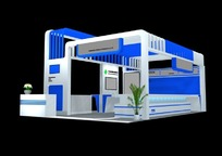3D商业展厅模型