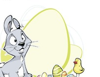 手绘简笔画行礼的小猫矢量图