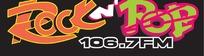 rock pop字母 logo设计