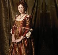 外国古代贵妇装扮的美女
