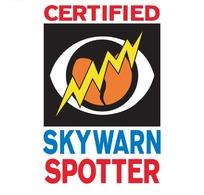 skywarn spotter字母logo设计