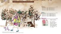 韩国时尚插画