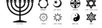 宗教图标标志矢量素材