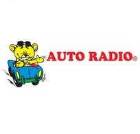 一张汽车电台的卡通风格logo设计矢量图