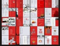 红色经典公司企业商务宣传画册
