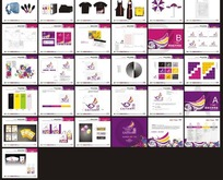 VI视觉办公应用识别系统设计模板