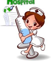 护士卡通形象_卡通护士psd免费下载_卡通人物素材