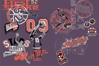 篮球俱乐部logo标志设计