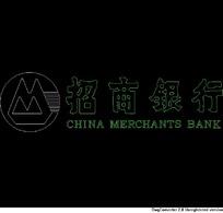 招商银行标志CAD图