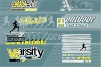 athletic 体育运动海报