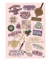 时尚矢量字体标志设计