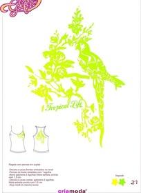 动植物衣服图案素材