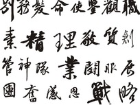中国书法设计欣赏