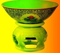 中国古代青花瓷碗