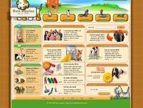 欧美宠物网页模板