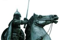 重装骑兵雕塑