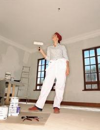 房屋装修人物素材