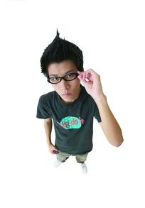 shoufu_手扶眼镜的时尚
