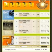 论坛网页设计