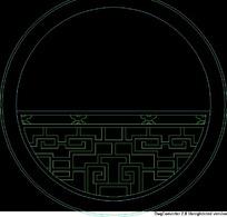 中式窗CAD图块素材