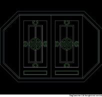 传统福字古文中式窗