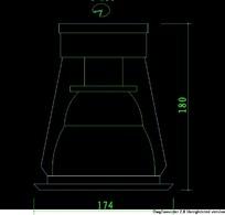 灯具筒灯CAD图块