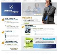 软件公司网页设计模板