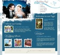 婚庆公司网页模版