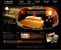 家居行业网页设计模版