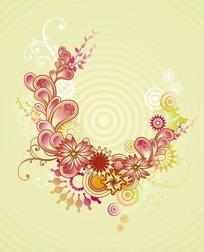 漂亮的角花