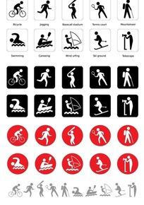 体育运动矢量图