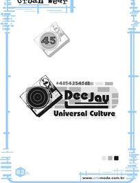 艺术字体设计海报之唱片机