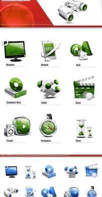 网页设计矢量素材