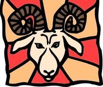 星座之白羊座图案