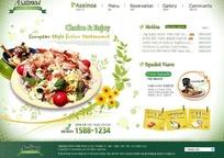 韩国特色美食网页设计