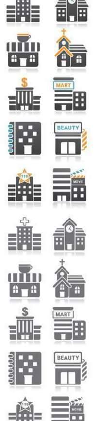 建筑行业矢量图标