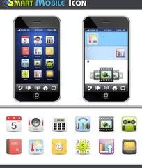 手机矢量图标