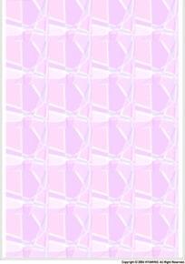 粉色调几何四方连续图案