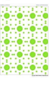 绿纹白底重复图案底纹