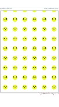 矢量图片喝奶粉表情包表情_矢量表情设计素材图片